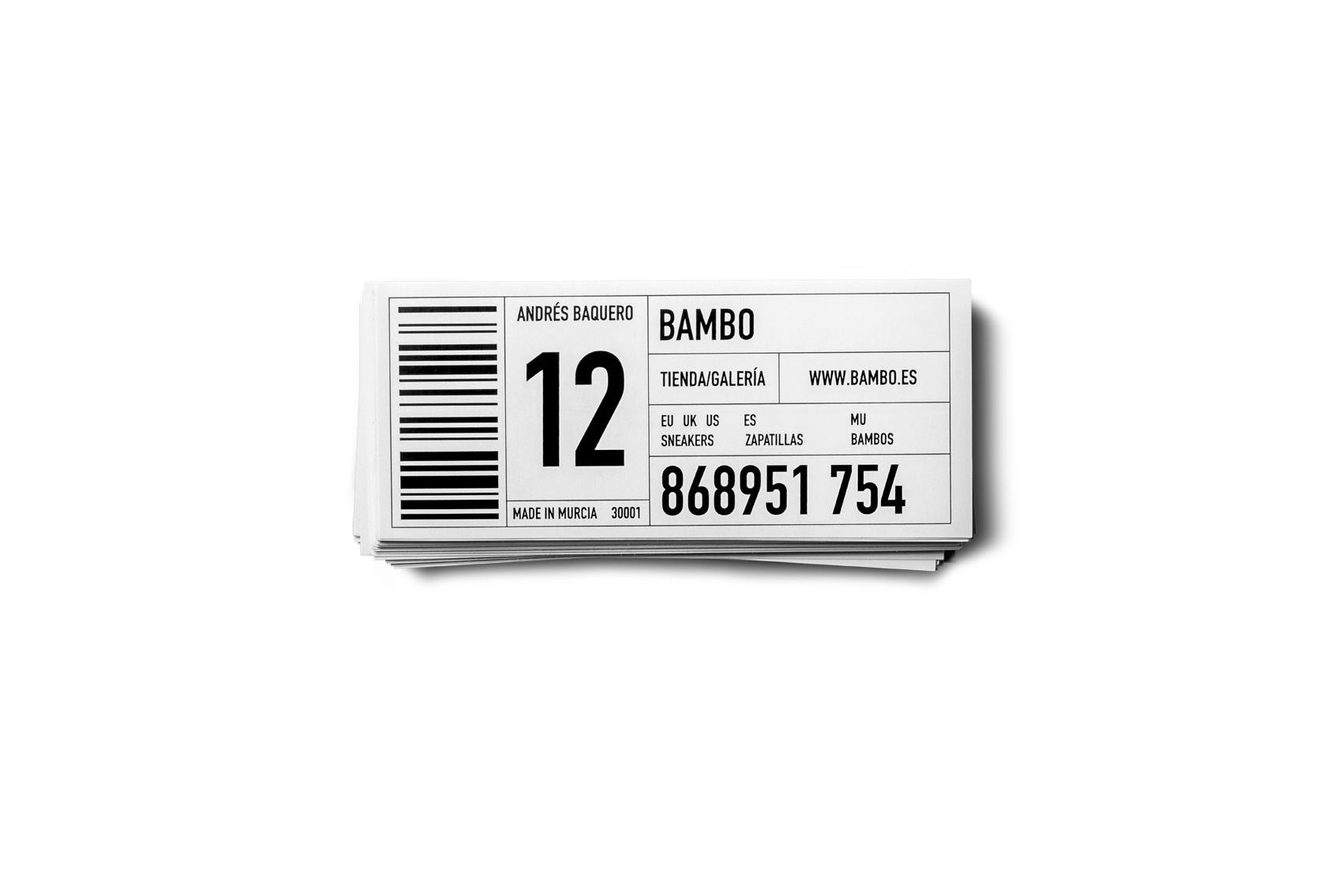 Bambo Stickers
